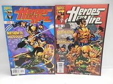 Heroes For Hire Marvel Comic Books 18 19 Wolverine Shang-Chi Master Kung-Fu Apps