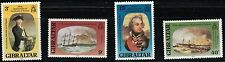 Gibraltar SC394-397 Paintings:Honoring Adm.LordHoratioNelson(1758-1806 MNH 1988