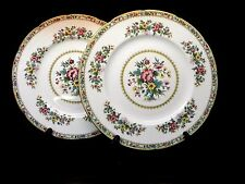 Coalport (England) Ming Rose Scalloped Dinner Plates (set of 2)