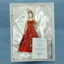 ROYAL DOULTON LADY FIGURINE GABRIELLA HN 5560 IN VELVET LINED BOX + CERTIFICATE