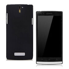 For Oppo Find5 X909 Black Rubberized Matte hard case back covers