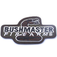 USA Army BushMaster Firearms Morale Badge Patches Specia Force EMBROIDERED Patch