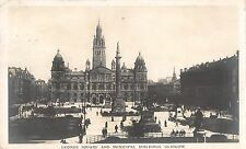 BR70636 george square and municipal building real photo  glasgow   scotland