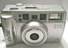 Vivitar PZ3115 35mm Point & Shoot Auto Focus Camera with Power Zoom Lens Used
