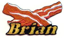 Iron-on Bacon Patch With Name Personalized Free
