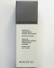 MD FORMULATIONS Continuous Renewal Serum Sensitive Skin 2 oz / 60 ml New In Box