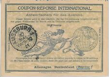 54324 - COUPON REPONSE - ROME  Model: GERMANY - o hand written after 30 Pf  1921