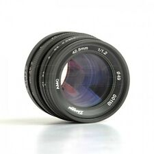 Mitakon ZY-Optics 42.5mm f/1.2 Lens Micro Four Thirds (MFT) Mount GH4 BMPCC UK!