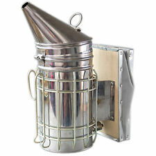 Beekeeping Equipment Bee Hive Smoker Stainless Steel with Heat Shield