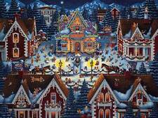 Jigsaw puzzle Seasonal Christmas Gingerbread House NEW 500 piece Made in USA