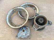 HONDA CF70  CHALY  MONKEY BIKE  3  SPOKE REAR WHEEL  HUB + PLATE  &  SPLIT RIMS