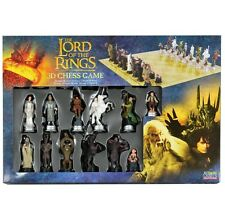 THE LORD OF THE RINGS Collectable CHESS GAME Set with 3D Characters
