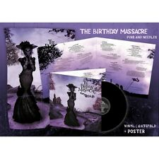 THE BIRTHDAY MASSACRE Pins And Needles LP GATEFOLD VINYL 2016 LTD.500 + Poster