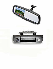 "Tailgate Backup Camera & 4.3"" Mirror Monitor for 2009-2016 Dodge Ram Trucks"