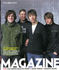"""""""ON THE ROAD WITH THE ARCTIC MONKEYS"""" - TIMES MAGAZINE COVER STORY (July 2007)"""