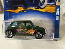 Hot Wheels Mini Cooper #200 Green Hot Wheels Collectors.com