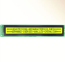 1PCS 40x2 4002 Character Monochrome LCD Display Module HD44780 Yellow Green