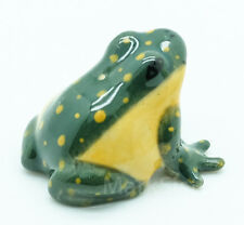 Figurine Animal Miniature Ceramic Statue Frog - SAF024