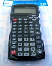 Calculatrice scientifique 240 fonctions,NEUF/Scientific calculator 240 functions