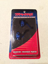 Traxxas Nitro 4-Tec Blue Anodized Steering Blocks / Axle Housings 4336X