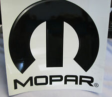"Lot of 3 MOPAR Decal Label Sticker Muscle Street Racing Performance 8""x8"" Black"