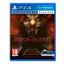 Jusqu'à l'aube rush of blood PS4 game (PSVR requis) brand new