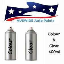 BMW TOUCH UP SPRAY PAINT ATLANTIS BLUE 207 + CLEAR