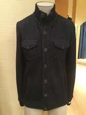 Giordano Men's Cardigan Size L BNWT Blue Buttoned Fastening RRP £177 Now £69