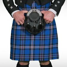 Scottish | Rangers Tartan Heavy Kilt & Kilt Pin | Geoffrey