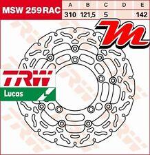 Disque de frein Avant TRW MSW 259 RAC Suzuki GSF 650 Bandit, S Bandit WVCZ 09-12