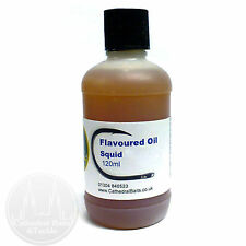 120ml Squid Flavoured Oil Liquid Sea / Beach / Boat Fishing Baits
