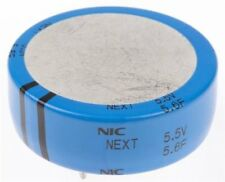 NIC Components 5.6F Electric Double Layer Capacitor -20/+80% NEXT Series 5.5Vdc