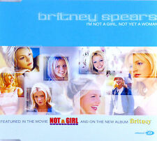 Maxi CD - Britney Spears - I'm Not A Girll - #A2391 - Incl. Booklet