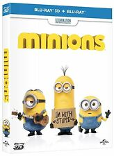Minions (Blu-ray 3D + Blu-ray) (2 DISC) (3D/2D) (All Region) (AVAILABLE NOW)
