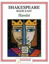 Shakespeare Made Easy, Hamlet (Shakespeare Made Easy Study Guides)-ExLibrary