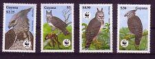 Guyana Michelnummer  3077 - 3080 postfrisch  (WWF)