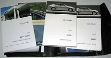 2008 LEXUS ES350 OWNERS MANUAL 08 SET ES 350 GUIDE +CASE