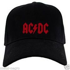 AC DC EMBROIDERED CAP BLACK HAT ROCK AND ROLL ACDC HEAVY METAL JUDAS PRIEST