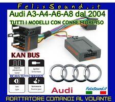 AUDI INTERFACCIA COMANDI AL VOLANTE CANBUS CON CONNETTORE ISO/ISO