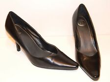"Donna Lawrence Black Classic 3"" Stiletto Heel Pump Size 7"
