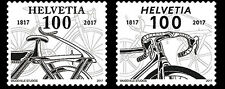 Zwitserland / Suisse - Postfris/MNH - Complete set 200 years Bicycle 2017