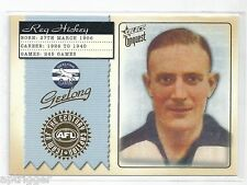 2004 Conquest Team of the Century Captain (TCC5) Reg HICKEY Geelong ***