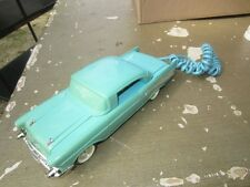TELEMANIA 57 CHEVY 1957 CHEVROLET PUSH BUTTON TELEPHONE PHONE BLUE BEEP RINGER