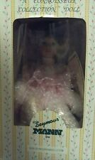 "Brand new 9"" Music Box Porcelain Doll. Arms and legs move when music box is on"