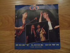 "Go West - Don't Look Down - 7"" vinyl single - GOW3 - EXC"