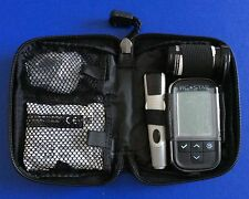 Carry Case For Diabetic Meter & Accessories - Black - With Zip - New -RRP £25