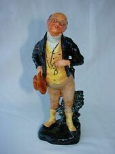 "1942 Royal Doulton Bone China 7"" Dickens Pickwick Figurine Hand Written HN 1894"