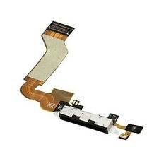 Flex Cable for Iphone 4S black USB Charging Port Flex Cable Dock Connector New