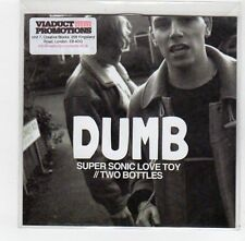 (FE259) Dumb, Super Sonic Love Toy / Two Bottles - 2013 DJ CD