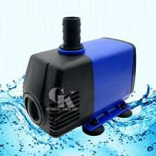 220V,2800LPH Aquarium Hydroponic Fish Tank Fountain 38W Submersible Water Pump